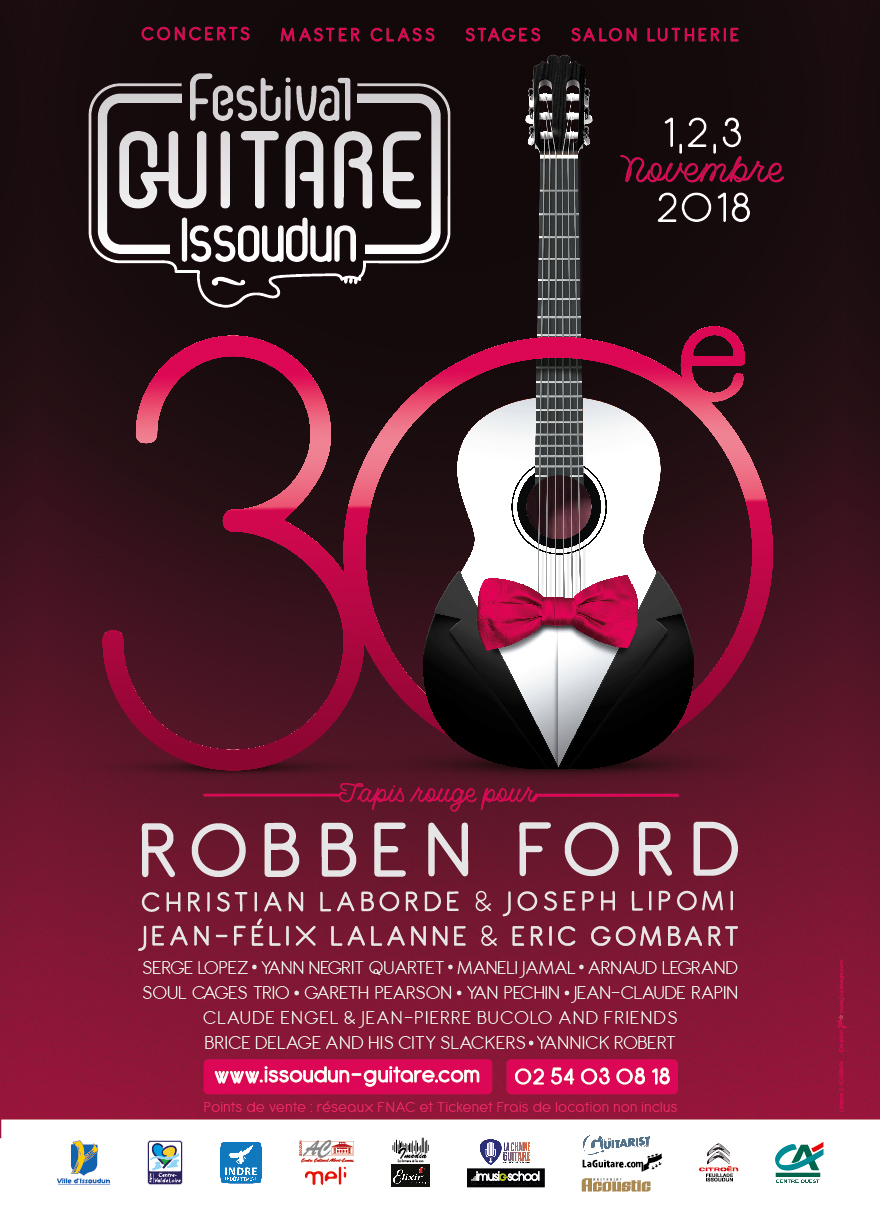 Festival de Guitare Issoudun 2018