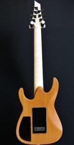 Guitare électrique 7 cordes - Dos