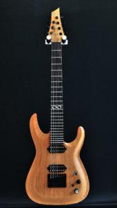 Guitare électrique 7 cordes - Face 1