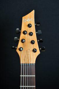 Guitare électrique 7 cordes - Tête
