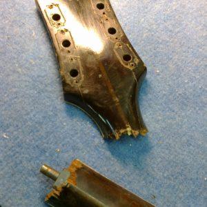 Réparation de guitare suite à une fracture